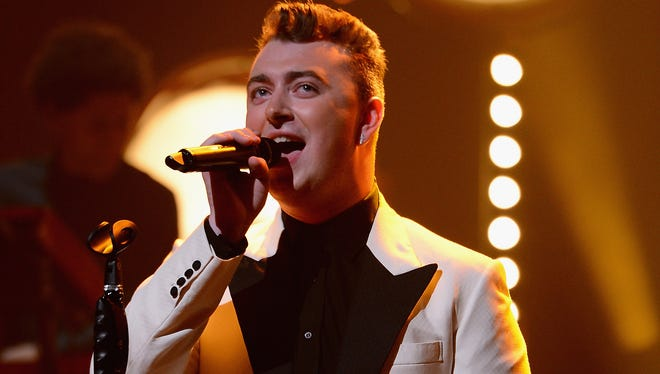 Sam Smith performs at The Apollo Theater on June 17 in New York City.