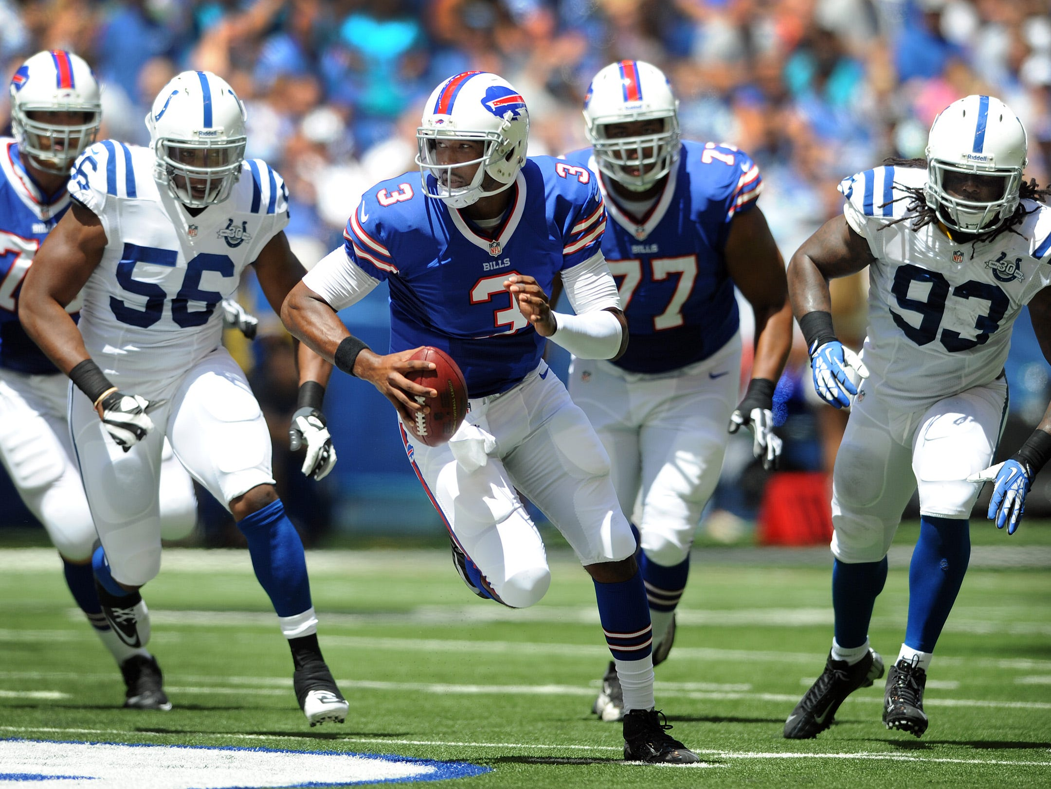 Bell: Bills rookie QB EJ Manuel headed in right direction