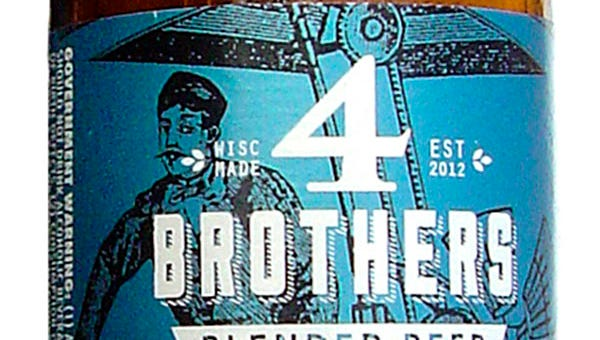 4 Brothers Relative Madness beer from Sand Creek Brewing Co., in Black Creek, Wis., is 5.2% ABV.