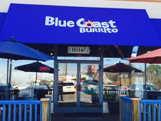Blue Coast Burrito is closing it's location on Union University Drive in Jackson.