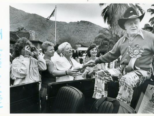 MAIN -- Bob Hope in parade