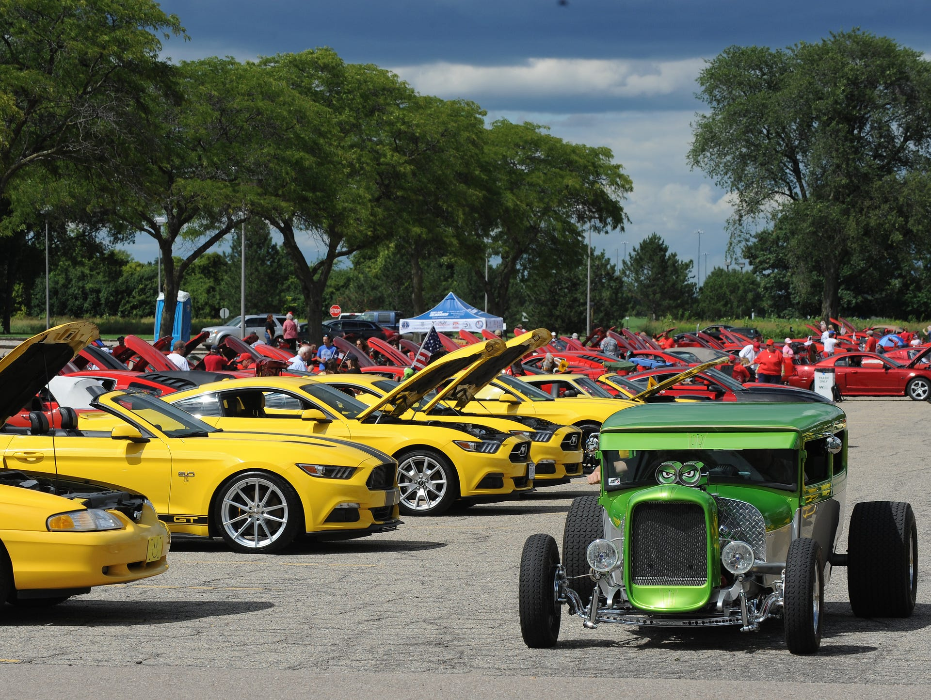 Car lovers soak up Mustang Memories at Ford World Headquarters Sunday
