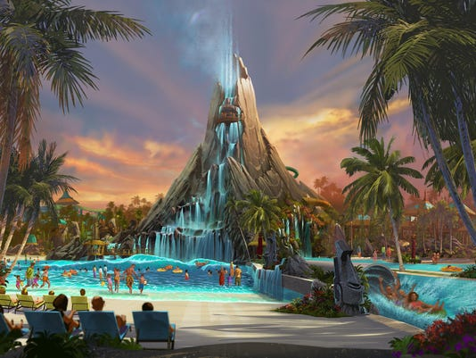 universal orlando offers sneak peek into volcano bay