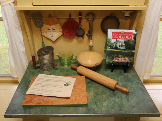 The Laura Ingalls Wilder house and museum in Mansfield,