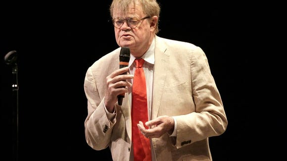 Garrison Keillor makes a return appearance at the Admiral