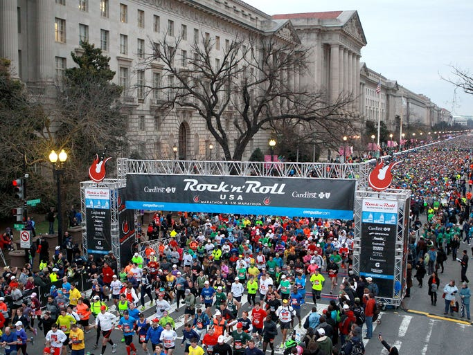 A spring race is like an inspirational light at the end of a long, cold winter tunnel. So, keep yourself motivated and moving through the next few months by securing a spot at one of the following 14 sensationally scenic spring races. Rock 'n' Roll USA Mini Marathon 5K, Washington, D.C.: For runners who aren't quite ready to tackle the marathon distance but still want in on all of the patriotic fun of the Rock 'n' Roll USA Marathon and Half races, this spring the Run Rock 'n' Roll series is introducing their inaugural Rock 'n' Roll USA Mini Marathon 5K. Mini Marathon participants get all the same perks as marathon and half-marathon runners, including a finisher medal, gear bag, t-shirt and access to all post-race celebrations.