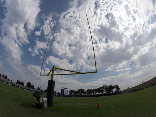 The Miami Dolphins found a temporary practice facility