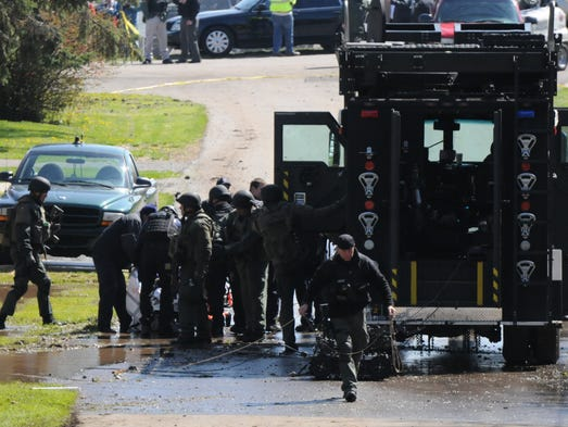 April 28, 2015Police successfully defused standoff