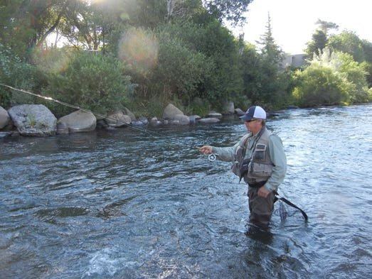 Nice trout and lots of 39 em to be found in reno for Fly fishing team usa