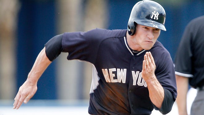 New York Yankees center fielder Slade Heathcott was placed on the disabled list for a strained right quad.