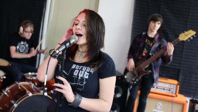 The RiverCity Rock Star Academy Rockers will play a free show 5 to 6 p.m. Saturday, March 12, at Shotski's Woodfired Pizza, 1230 State St.