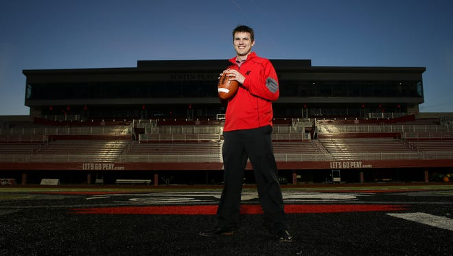 Austin Peay's new football coach Will Healy has high hopes for his team and new coaching staff.