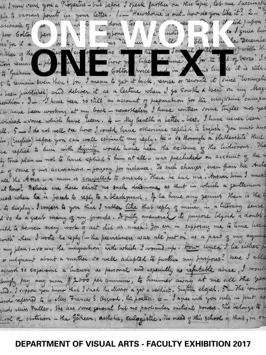 One Work, One Text