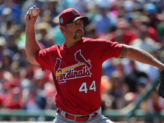 MLB: Spring Training-St. Louis Cardinals at Atlanta Braves