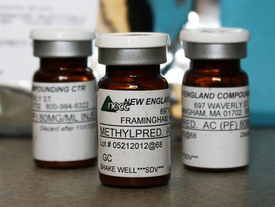 APTOPIX Meningitis Outbreak