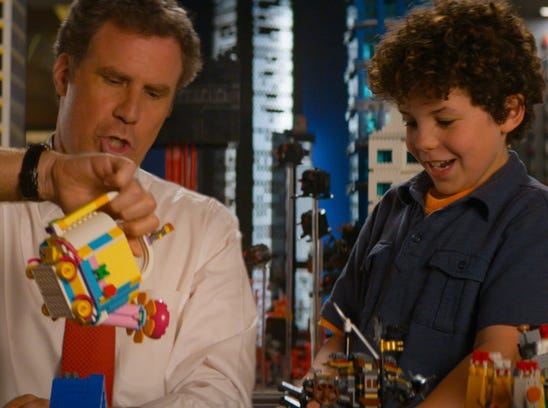 "Will Ferrell in ""The Lego Movie."""