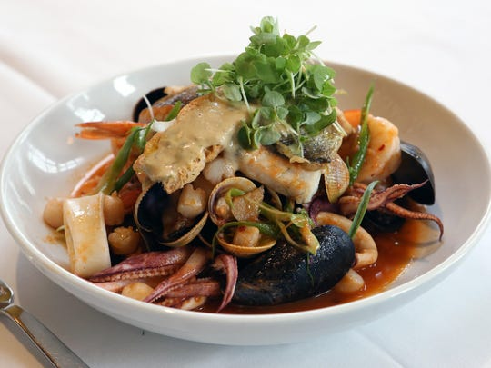 Zuppa di Pesce, the dish that will be served at Tarry