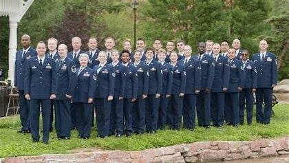 The Air National Guard Band of the Southwest will perform a 30-minute concert on Sunday at Ruidoso Downs Race Track beginning at noon.