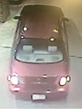 Voorhees police believe the driver of this car robbed a Route 73 gas station on Sunday morning.