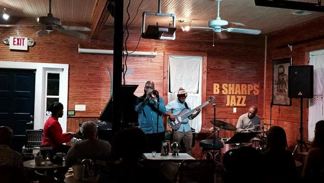 Electric Relaxation lit up B Sharp Jazz Club on Saturday night.
