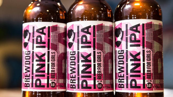 "BrewDog released a ""beer for girls"" called Pink IPA, intended to satirize the beer industry."