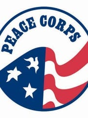 The Peace Corps logo.
