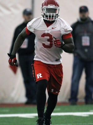 Rutgers' Steve Longa had his streak of 36 consecutive games started snapped on Saturday at Army