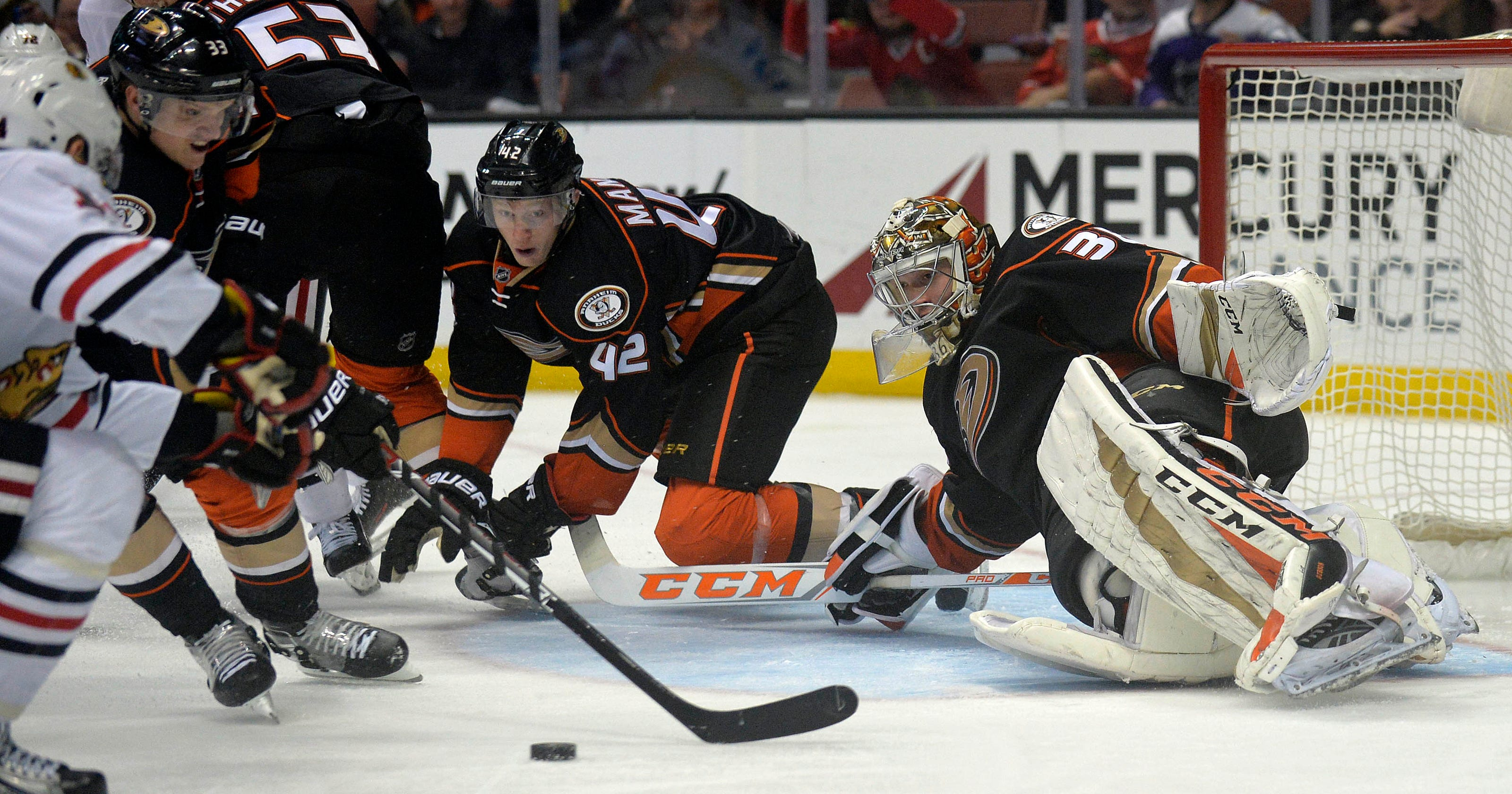6b5a0f8bf30 Anaheim Ducks are on brink of fifth consecutive Pacific Division title