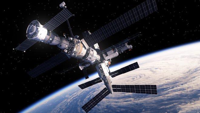 The International Space Station will rival some of the brightest stars on Friday as it lights up our evening horizon.