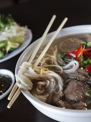 The Pho is a favorite among patrons at the Asian Cajun
