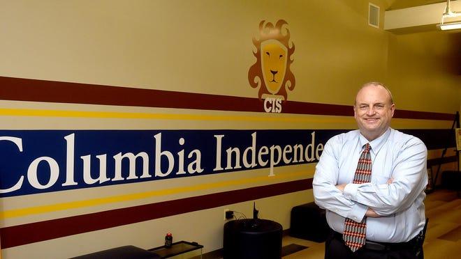 Jeff Walkington, principal at the Columbia Independent School.