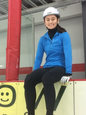 Green Bay Southwest senior Mei Fredeen won the Junior B Ladies Short Track national championship last year.