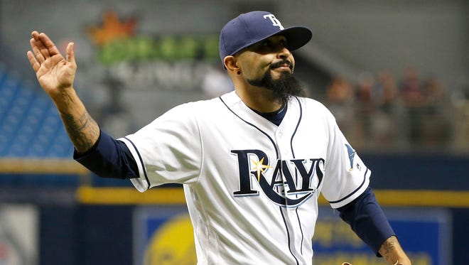 Sergio Romo posted a 1.47 ERA in 25 outings with the Rays.