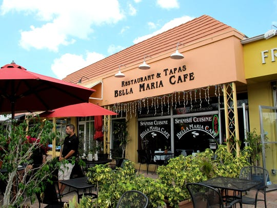 The last day for Bella Maria Cafe on Fifth Avenue South in Naples was April 27, 2016.