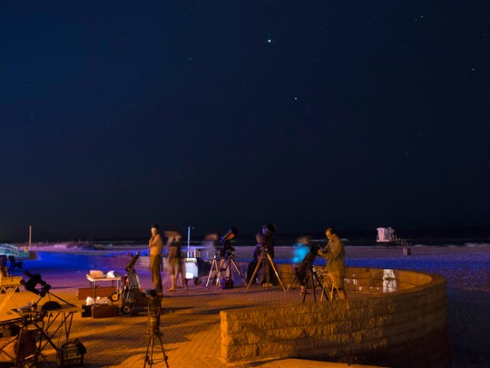 Escambia Amateur Astronomers' Association's stargazing events are free and make an ideal date night.