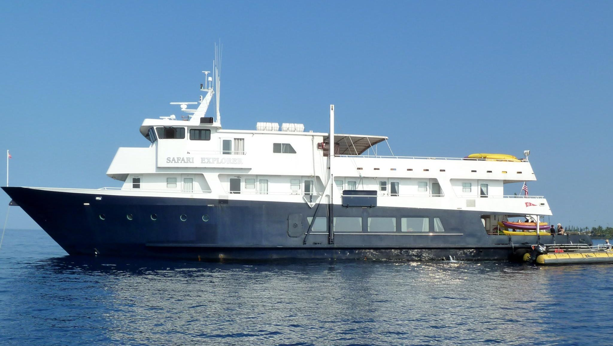 Small ship line Un-Cruise Adventures' Safari Explorer operates in Alaska, Hawai'i and Mexico's Sea of Cortez.