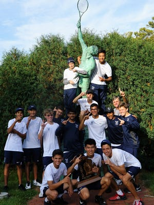 Cranbrook Kingswood's boys tennis team vaulted to its second consecutive Division 3 state championship in Kalamazoo.