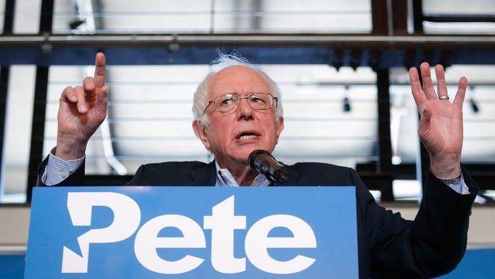 Former Democratic presidential candidate Bernie Sanders