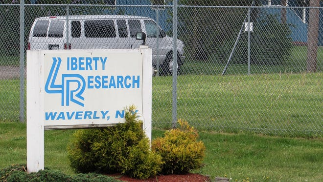 Liberty Research Inc., a Waverly company that breeds dogs and cats for veterinary product research, is the subject of a complaint filed by an animal rights group.