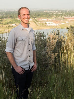 Coloradoan investigative reporter Nick Coltrain