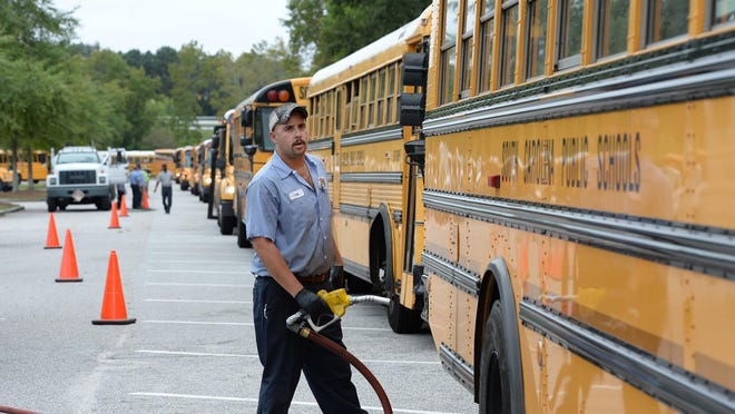 State Education Superintendent Molly Spearman has requested $105 million from the Legislature to help replace South Carolina's oldest school buses.