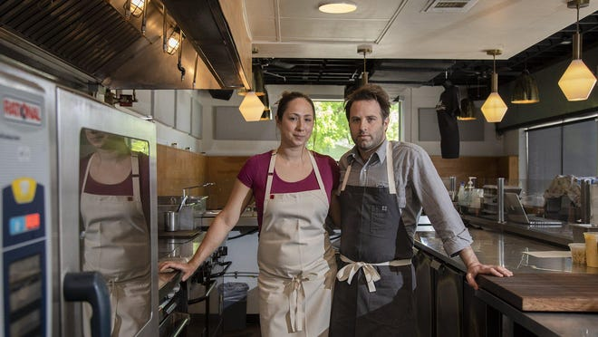 Chefs Sarah Heard and Nathan Lemley, the owners of Foreign & Domestic, have opened Commerce Cafe in Lockhart.