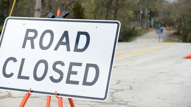 Railroad repair is forcing the temporary closure of East Chester Street.