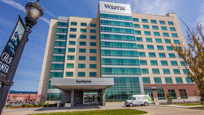 The Westin Wilmington opened on Thursday.