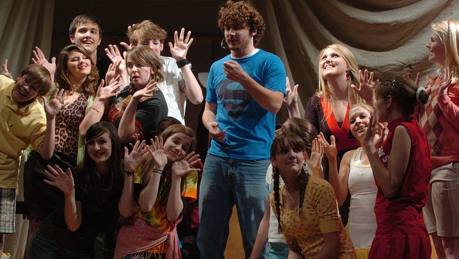 """A 2007 Madison Junior Community Theatre production of """"Godspell."""" It's among works Mississippi theater groups can't get license to produce, following the anti-LGBT legislation."""