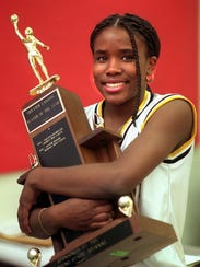 1997 Greater Lansing girls basketball player of the