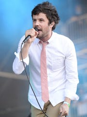 Michael Angelakos will perform with Passion Pit on April 3 at White River State Park.