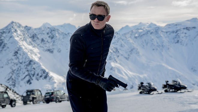 """Daniel Craig as James Bond in """"Spectre."""" the new film is entertaining, but doesn't break any new ground."""