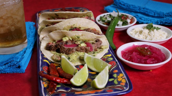 Try making Carne Asada tacos with pickled onions to celebrate Cinco de Mayo.