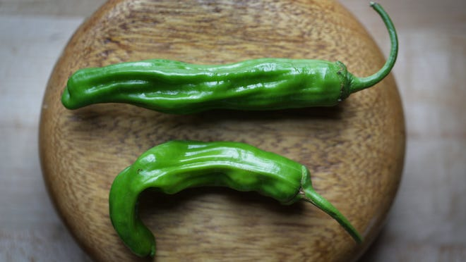 Shishito peppers are a trendy menu item.